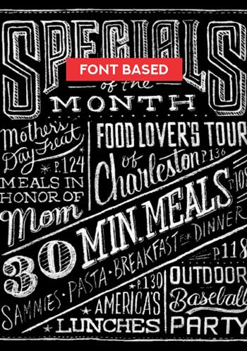 Font-based